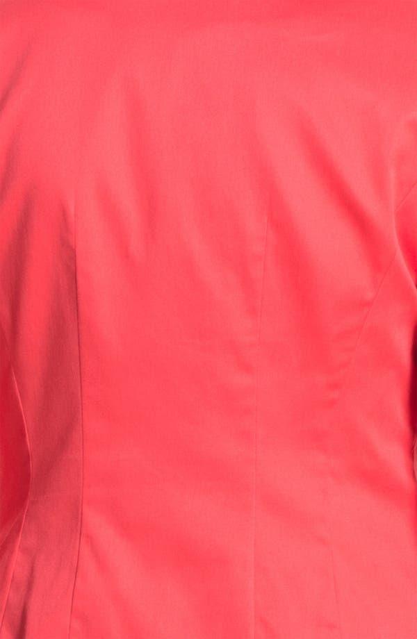 Alternate Image 5  - Halogen® Three Quarter Roll Sleeve Blazer (Petite)