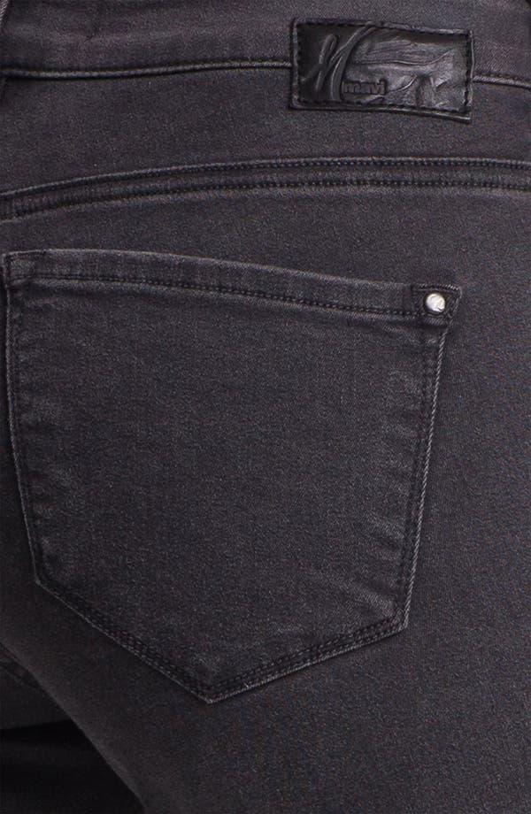 Alternate Image 3  - Mavi Jeans 'Serena' Skinny Jeans (Grey Shanti)