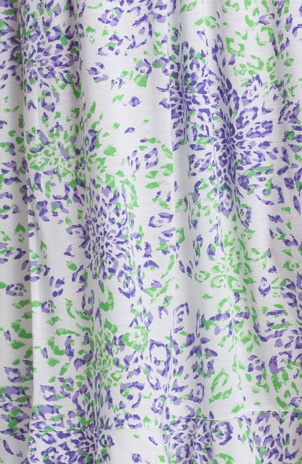 Alternate Image 3  - Oscar de la Renta Sleepwear 'Animal Blossom' Nightgown