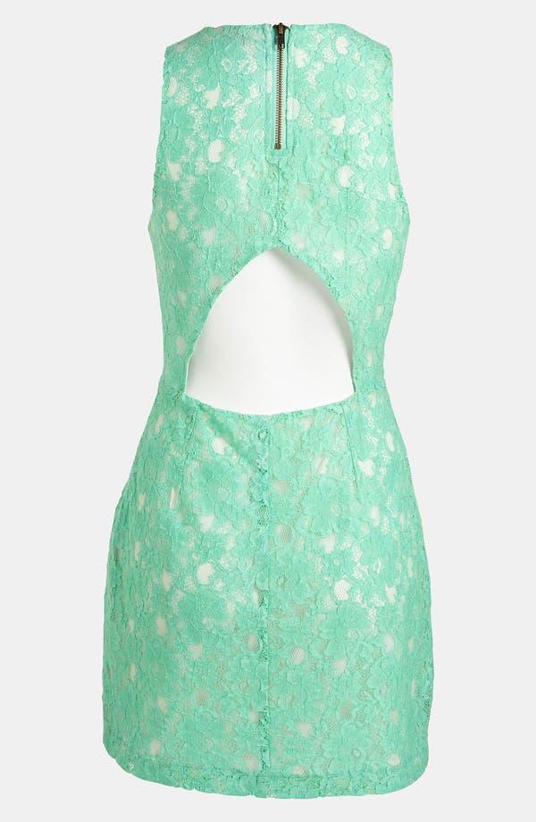 Alternate Image 2  - ASTR Cutout Lace Dress
