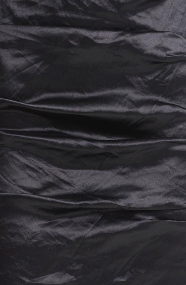 Alternate Image 3  - Nicole Miller Techno Metal Faille Sheath Dress