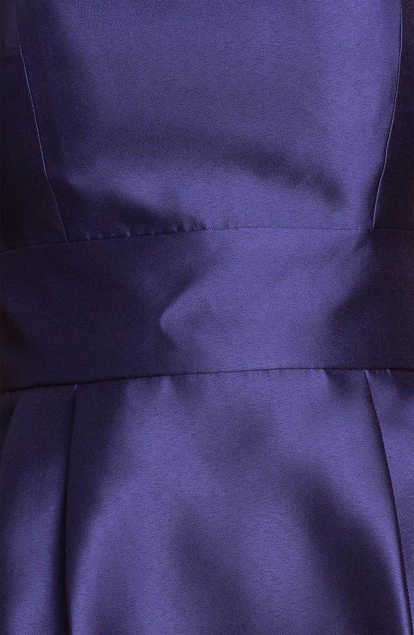 Alternate Image 3  - Eliza J Strapless Taffeta Sheath Dress