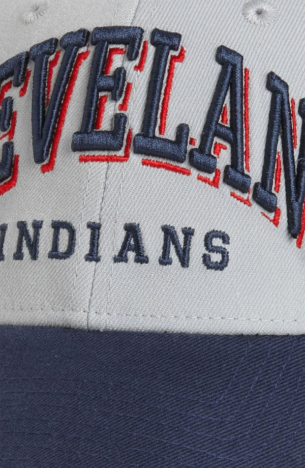 Alternate Image 3  - New Era Cap 'Cleveland Indians - Arch Mark' Fitted Baseball Cap