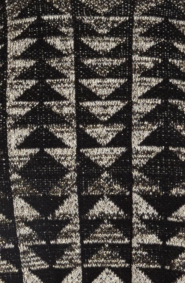 Alternate Image 3  - Viva Vena! Cutout Geometric Jacquard Sweater