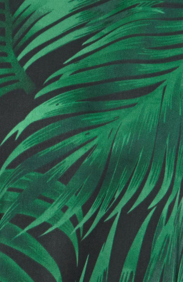 Alternate Image 4  - BB Dakota Palm Frond Print Shirt