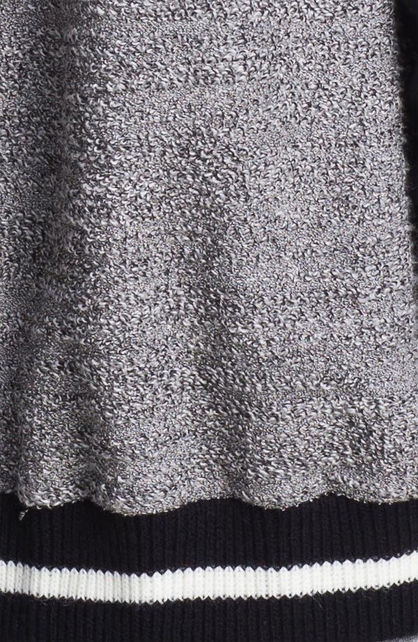 Alternate Image 3  - KUT from the Kloth Baseball Sweater Jacket