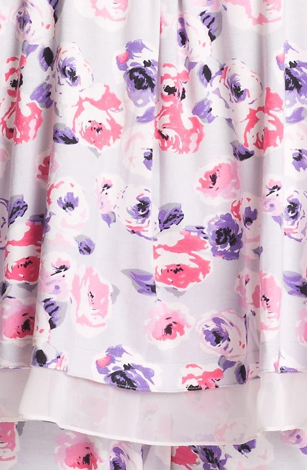 Alternate Image 3  - Midnight by Carole Hochman 'Kiss by a Rose' Pajamas (Plus)