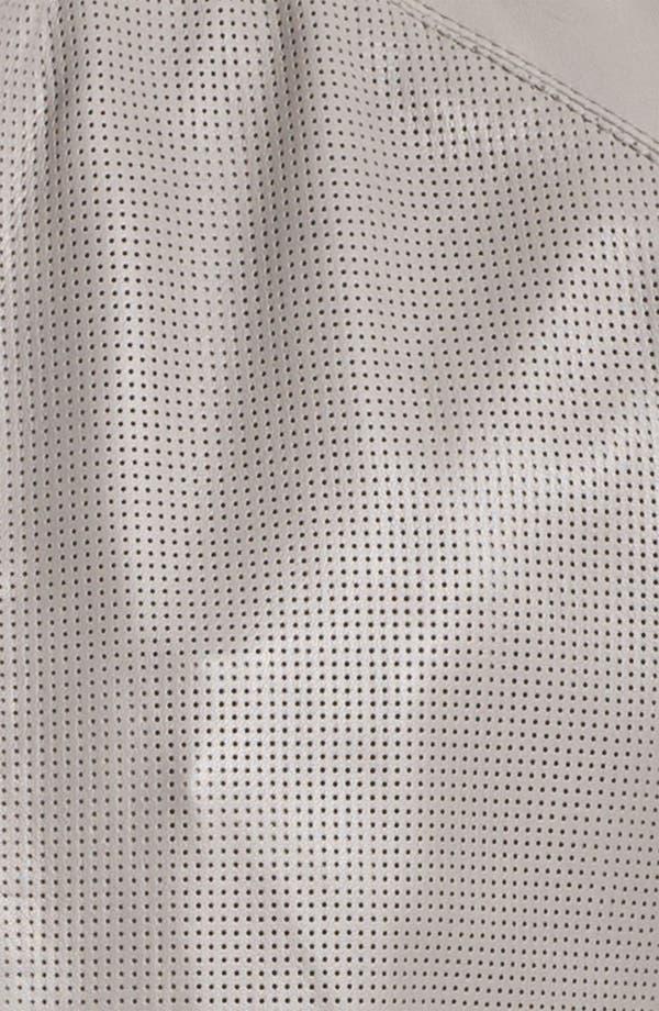 Alternate Image 3  - Michael Kors Leather Moto Jacket