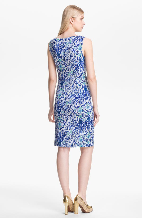 Alternate Image 2  - Tory Burch 'Viviane' Silk Sheath Dress