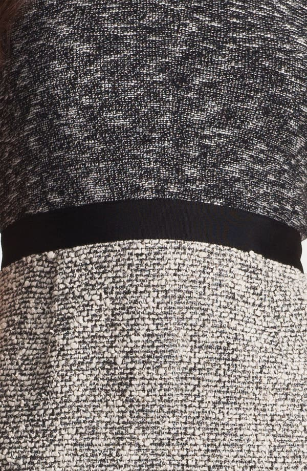 Alternate Image 3  - Rebecca Taylor Tweed Sheath Dress
