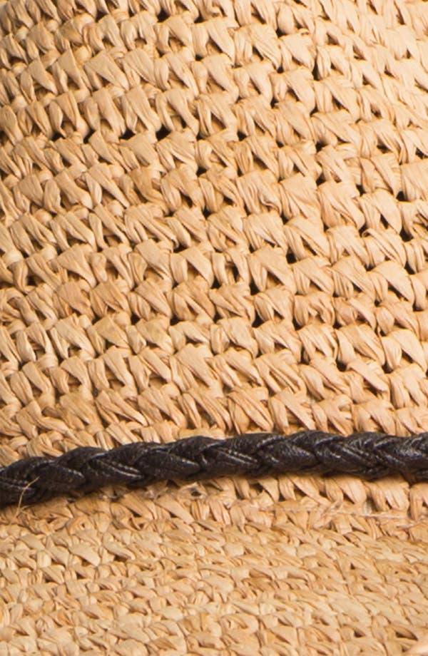 Alternate Image 2  - Trouvé Straw Cowboy Hat