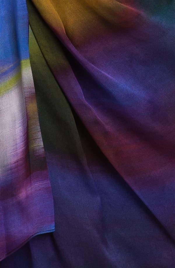 Alternate Image 3  - Suzi Chin for Maggy Boutique Side Drape Silk Dress (Petite)