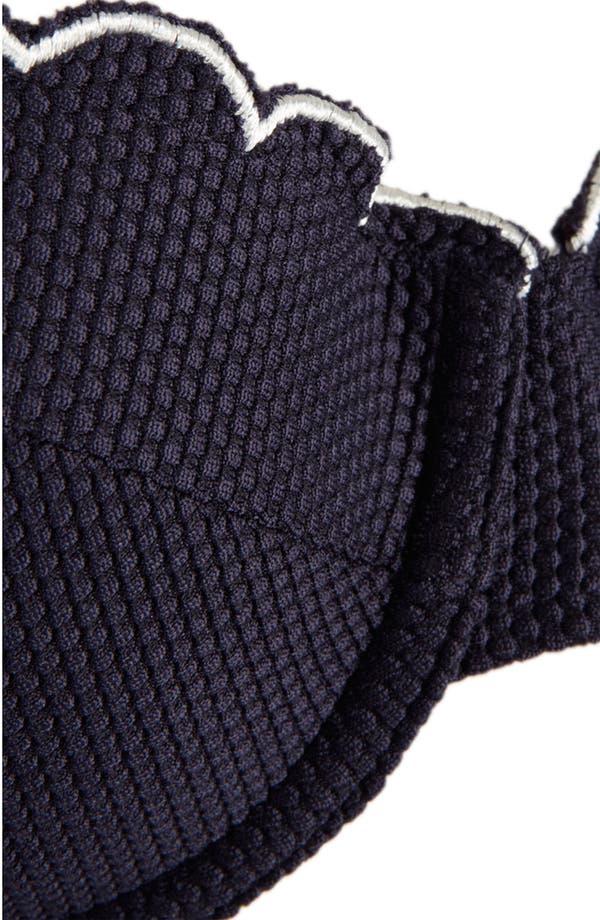 Alternate Image 3  - Topshop Scalloped Underwire Bikini Top
