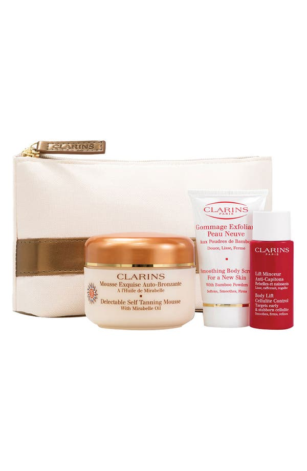 Alternate Image 1 Selected - Clarins 'Tan-Talize Delectable' Self Tanning Set ($58 Value)