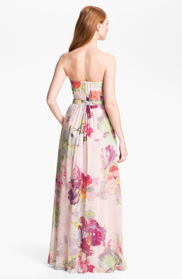 Alternate Image 2  - Ted Baker London 'Treasured Orchid' Silk Maxi Dress (Online Only)