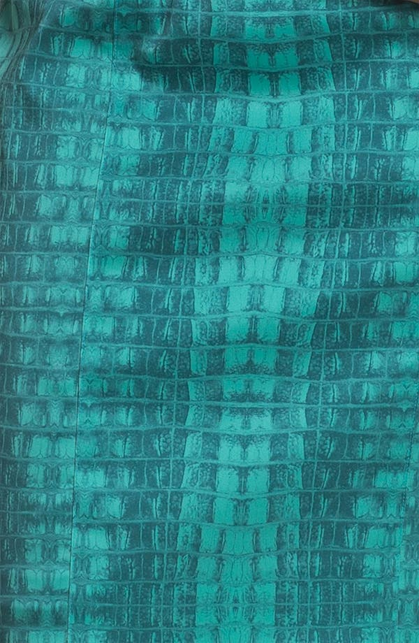 Alternate Image 3  - Jay Godfrey 'Balti' Alligator Print Dress (Nordstrom Exclusive)