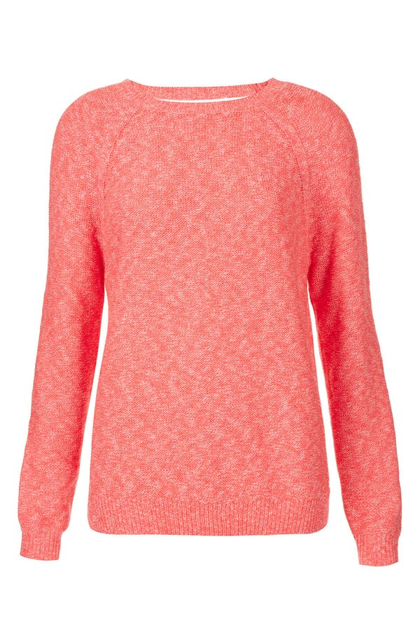 Main Image - Topshop Cutout Back Sweater