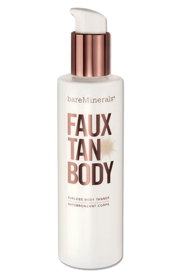 Alternate Image 1 Selected - bareMinerals® Faux Tan Sunless Tanner for Body