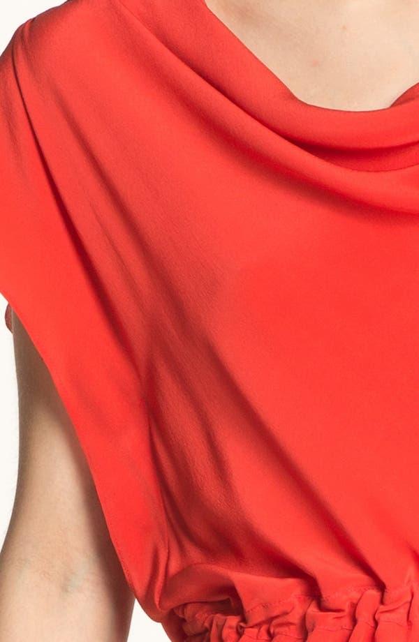 Alternate Image 3  - GREYLIN 'Lolita' Draped Silk Dress