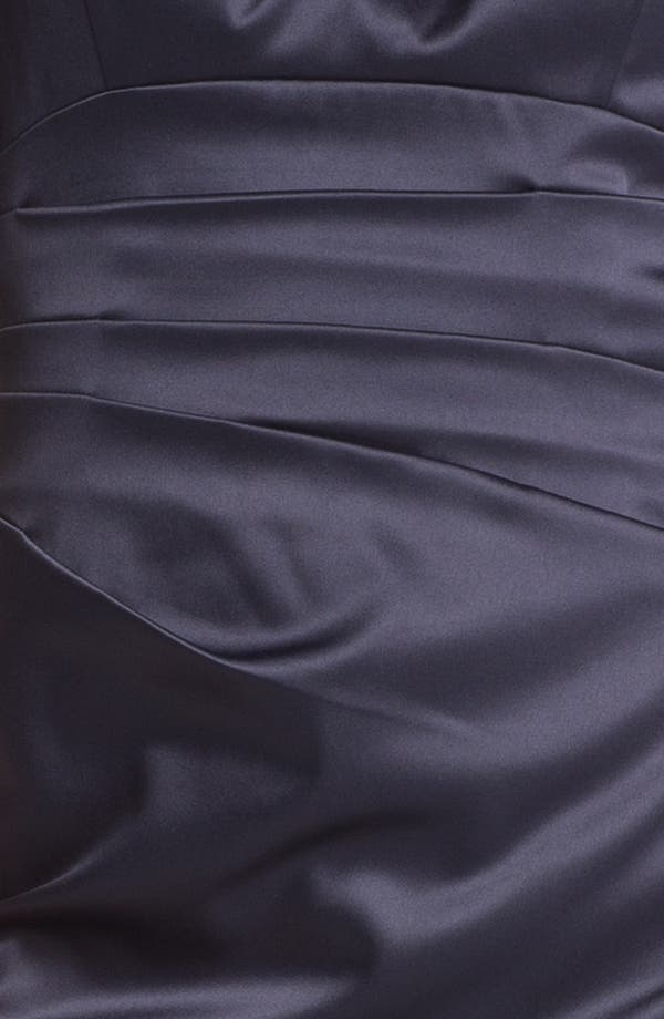 Alternate Image 4  - Eliza J Pleated Satin Sheath Dress