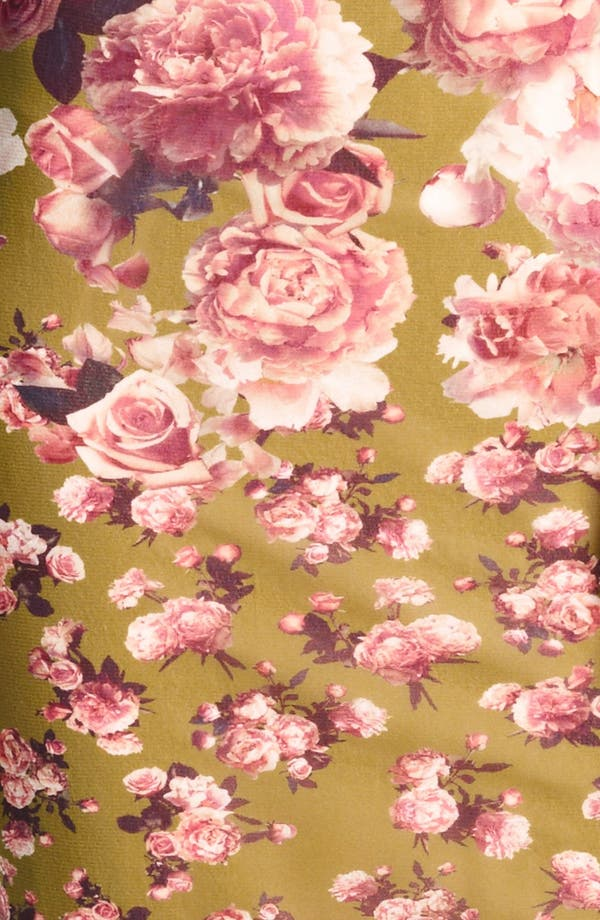 Alternate Image 3  - Jean Paul Gaultier Fuzzi Rose Print Tulle Dress