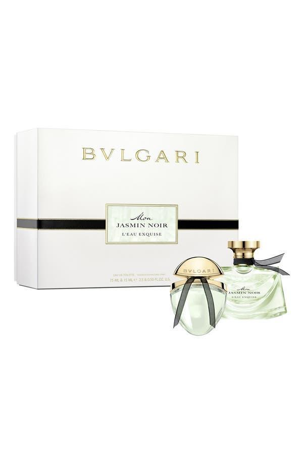 Alternate Image 1 Selected - BVLGARI 'Mon Jasmin Noir L'Eau Exquise' Gift Set ($126 Value)
