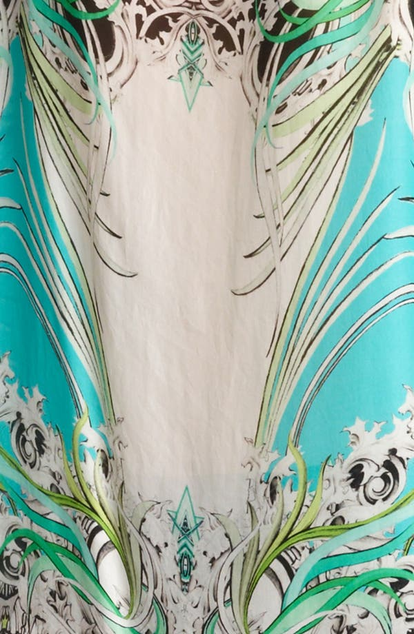 Alternate Image 3  - Roberto Cavalli Jaguar Print Chiffon Tunic