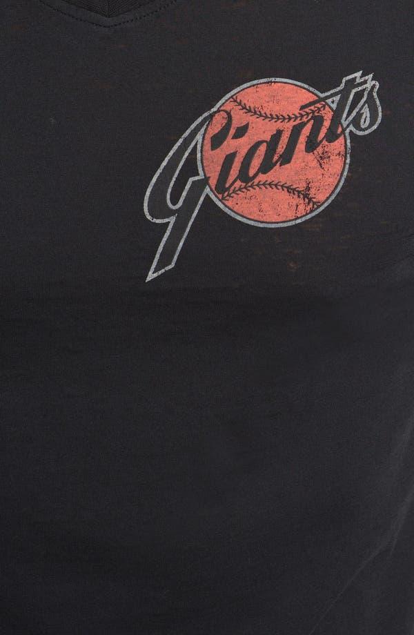 Alternate Image 3  - Red Jacket 'Giants - V-Wood' T-Shirt