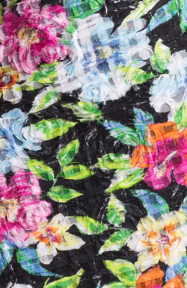 Alternate Image 3  - Aidan Mattox Floral Print Sheath Dress