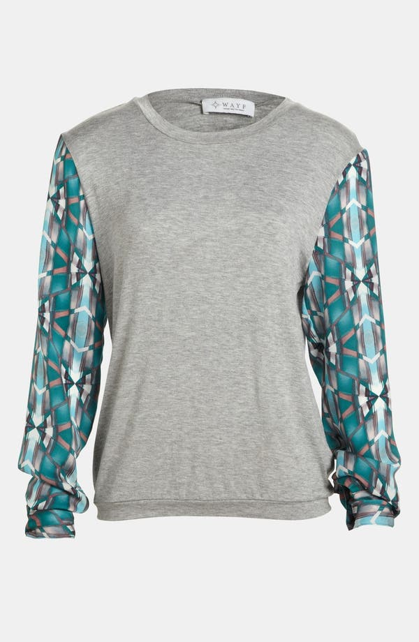 Alternate Image 1 Selected - WAYF Knit Pullover