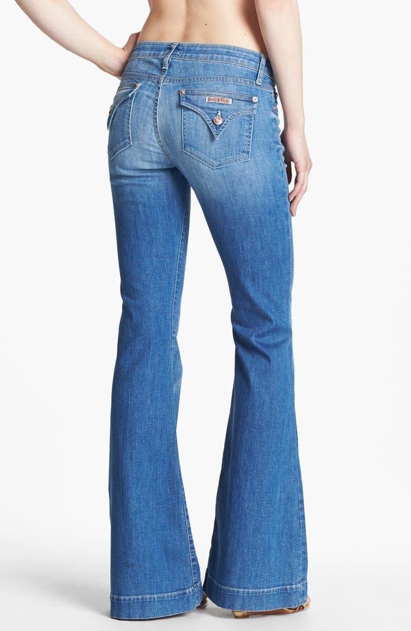 Alternate Image 2  - Hudson Jeans 'Ferris' Flare Leg Jeans (Polly)