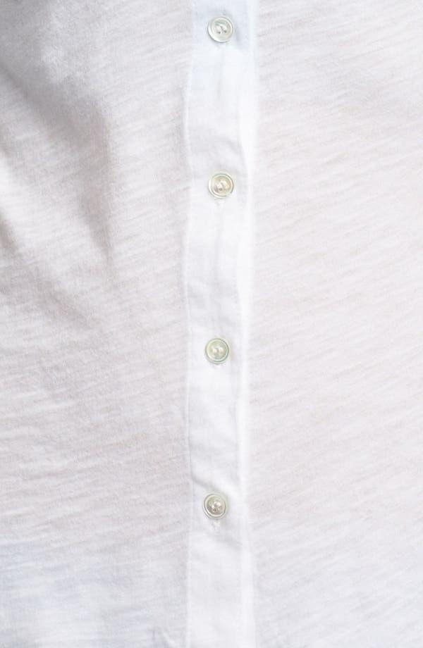 Alternate Image 3  - James Perse Pocket Shirt
