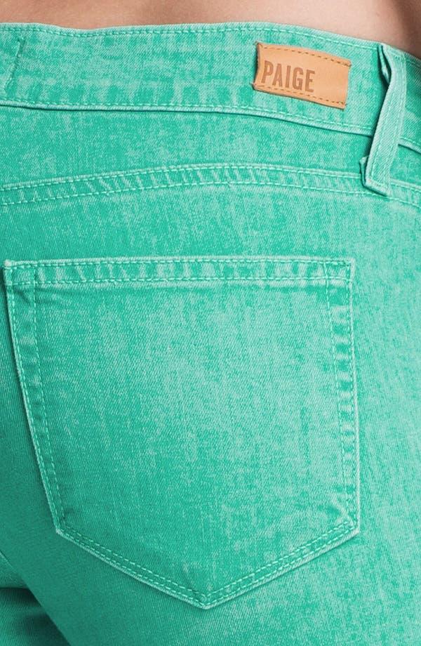 Alternate Image 3  - Paige Denim 'Verdugo' Skinny Stretch Denim Jeans (Spearmint)