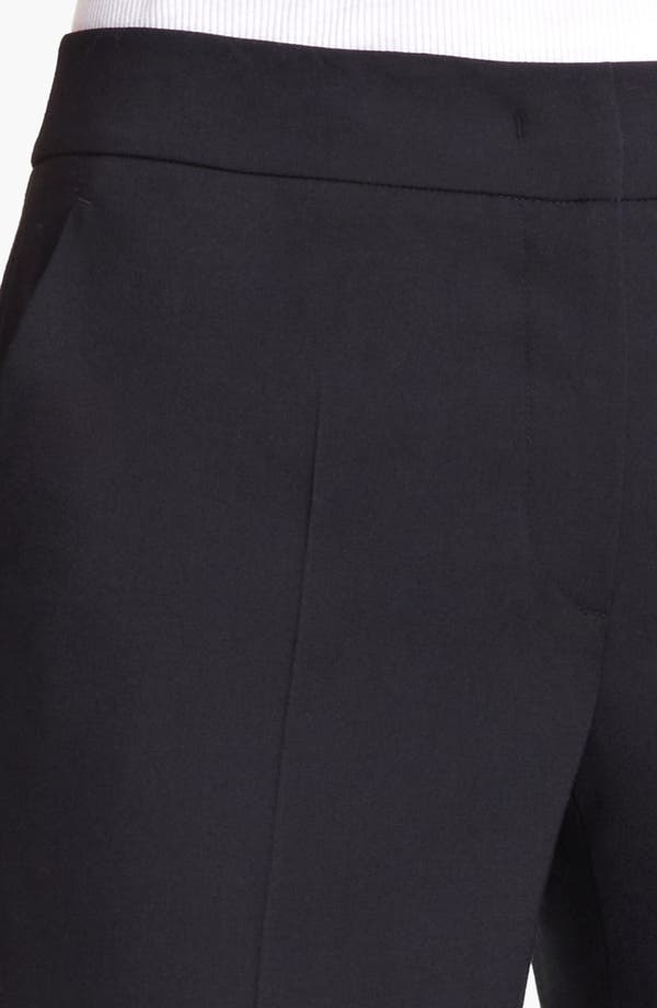 Alternate Image 3  - Armani Collezioni Narrow Leg Stretch Wool Pants