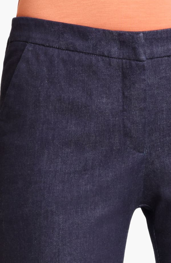 Alternate Image 3  - Armani Collezioni Narrow Leg Stretch Jeans