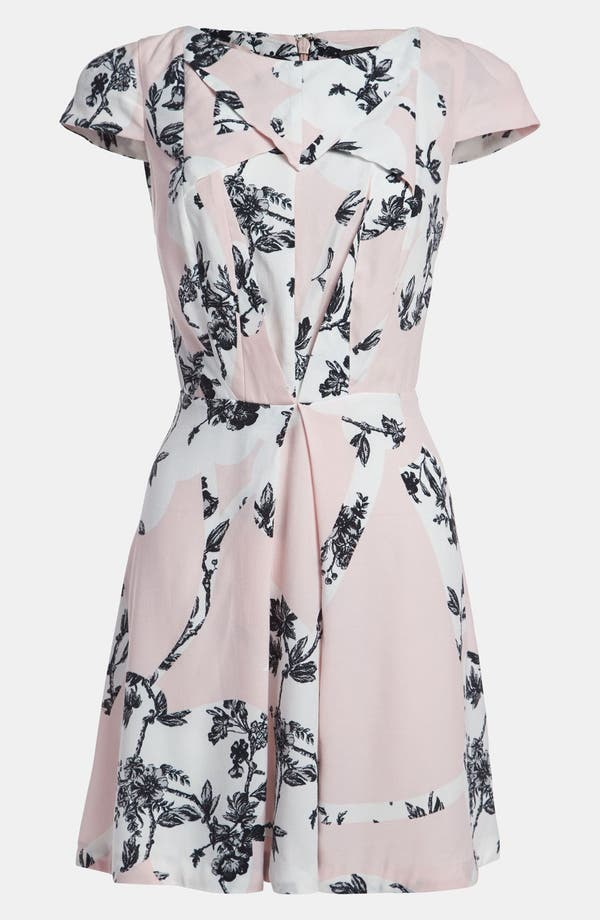 Alternate Image 1 Selected - Topshop Origami Toile Dress