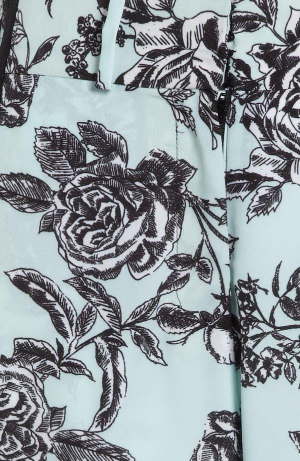 Alternate Image 3  - Wayf Tuxedo Stripe Floral Pants