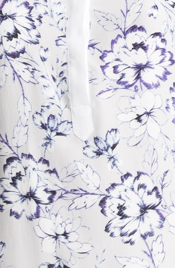Alternate Image 3  - Rebecca Taylor 'Zen Flower' Silk Shift Dress