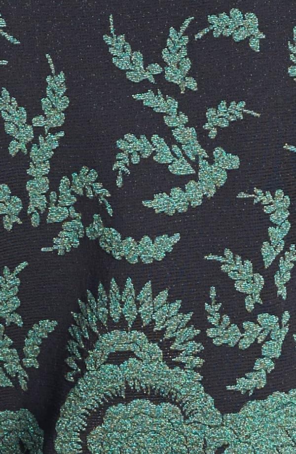 Alternate Image 3  - St. John Collection Plume Floral Brocade Crop Jacket