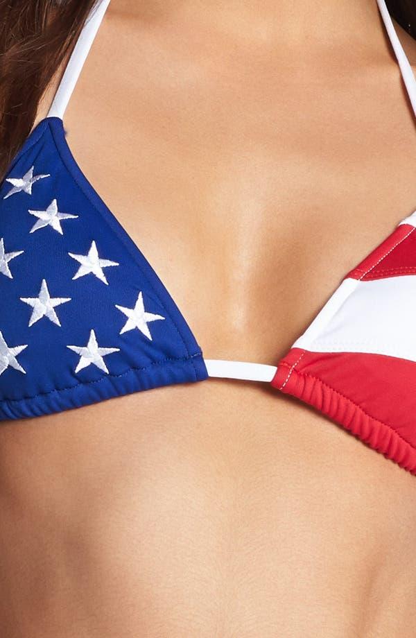 Alternate Image 5  - Ralph Lauren Blue Stars & Stripes Bikini Top