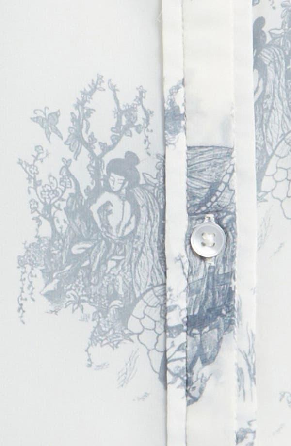 Alternate Image 3  - Tildon Sheer Print Top