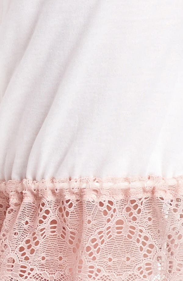 Alternate Image 3  - Only Hearts 'Venice' Lace Trim Shorts