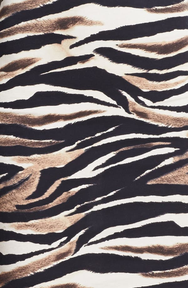 Alternate Image 3  - Just Cavalli Leopard & Zebra Print Jersey Dress