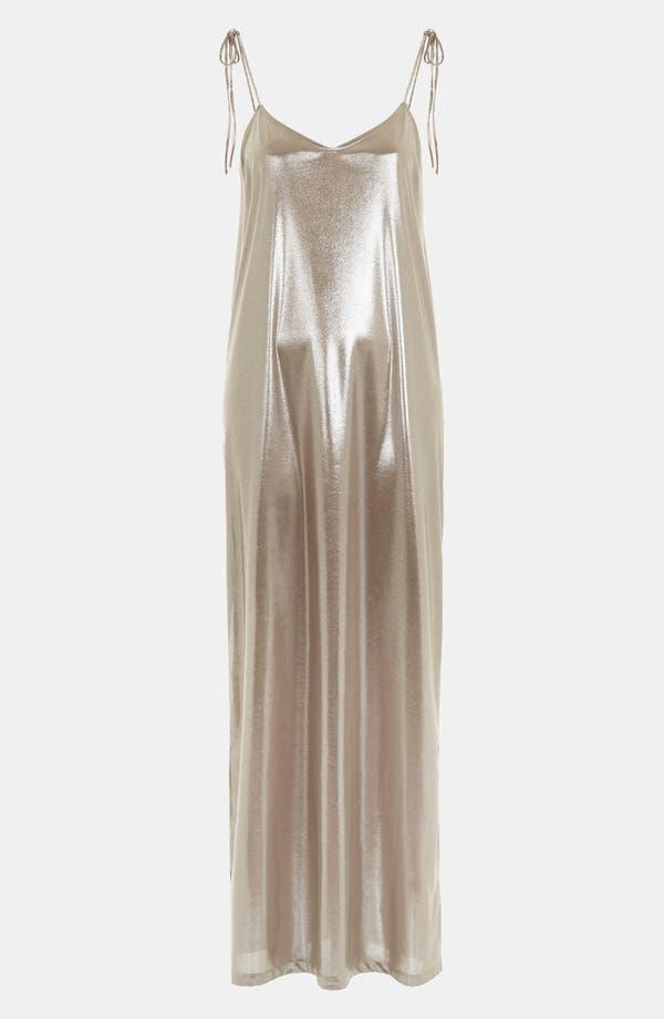 Alternate Image 3  - Topshop Scoop Back Maxi Dress