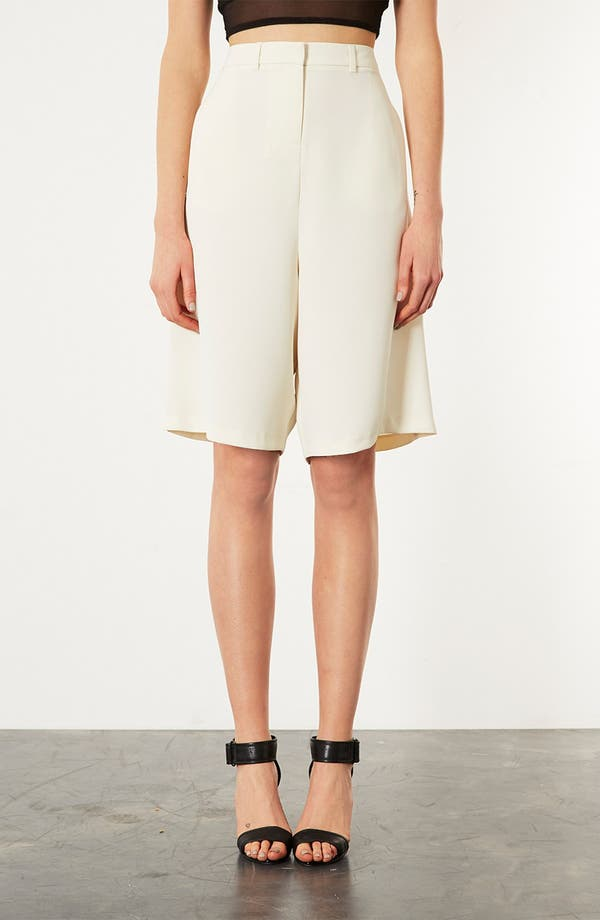 Alternate Image 1 Selected - Topshop Tailored Culottes