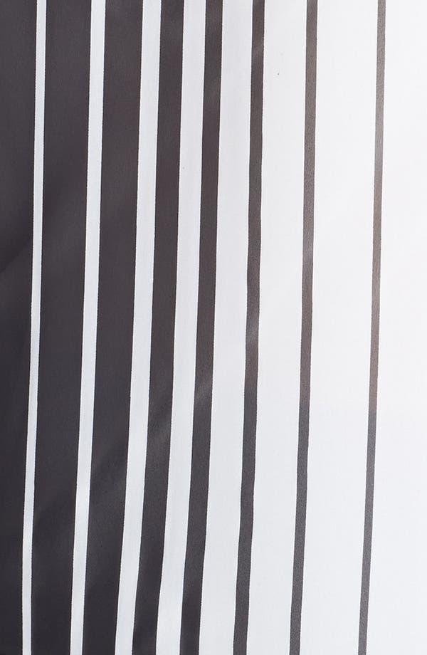 Alternate Image 3  - Vince Camuto Stripe Short Sleeve Blouse (Plus Size)