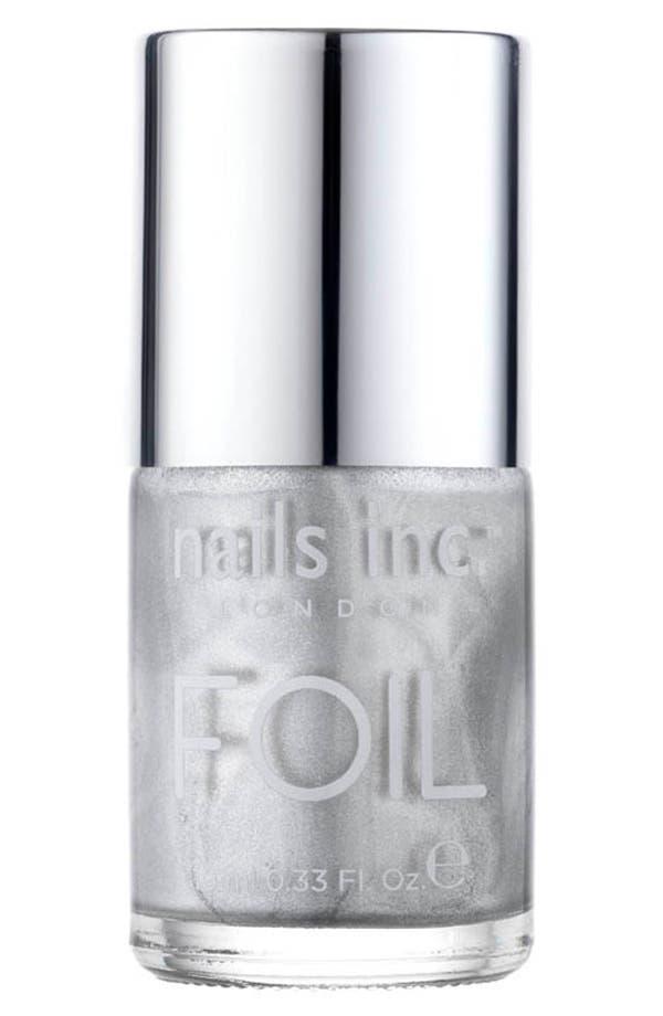 Main Image - nails inc. London 'Foil' Nail Polish