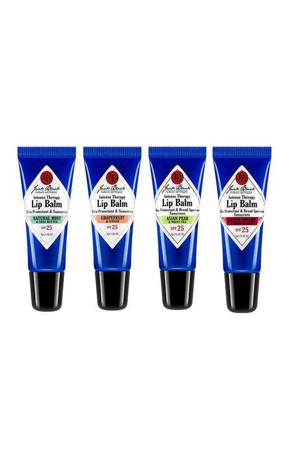 Alternate Image 1 Selected - Jack Black 'Balm Squad' Intense Therapy Lip Balm SPF 25 Set