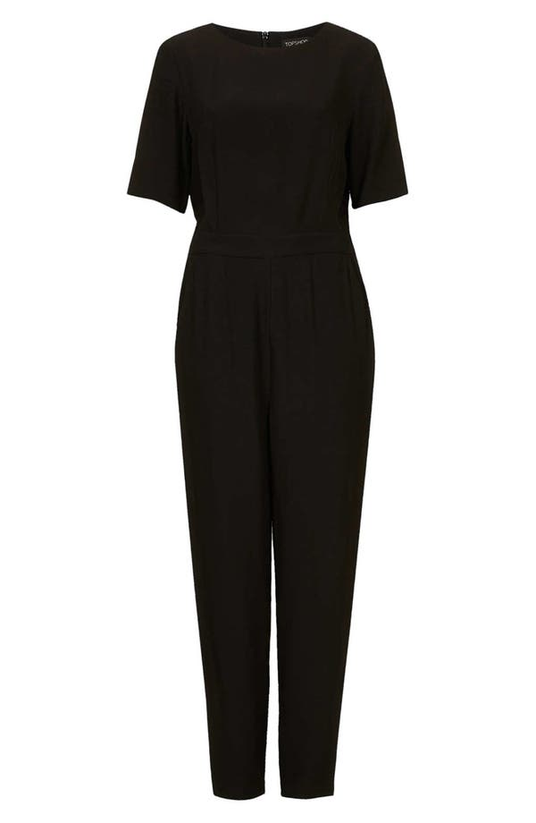 Alternate Image 3  - Topshop Matte Satin Jumpsuit