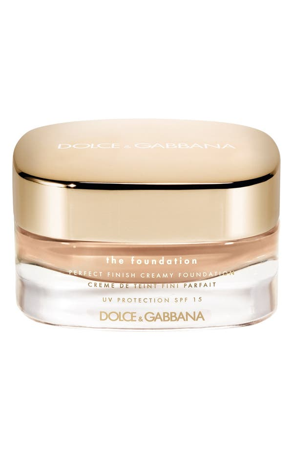 Main Image - Dolce&Gabbana Beauty Perfect Luminous Creamy Foundation